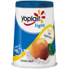 Yoplait Light Yogurt Harvest Peach, 6 oz