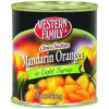 Western Family Mandarin Oranges in Light Syrup, 11 oz
