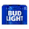Bud Light Azulitas Beer Cans, 8 fl oz, 12 ct