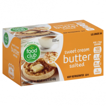Food Club Salted Butter, 1 lb