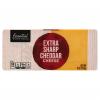 Essential Everyday 100% Extra Sharp Cheddar Cheese, 8 oz