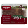 SHADY BROOK GROUND TURKEY 93% FAT FREE 1.3LBS