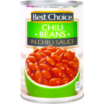 Best Choice Chili Beans in Chili Sauce, 15.5 oz