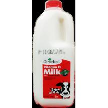 Cloverland  Whole Milk Half Gallon