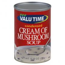 Valu TIme Cream of Mushroom Soup, 10.50 oz