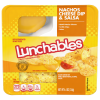 Oscar Mayer Lunchables Nachos Cheese Dip + Salsa Snack, 4.4 oz
