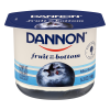 Dannon Blueberry Fruit on the Bottom Yogurt, 6 oz