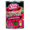 Shur Fine Petite Diced Tomatoes with Green Chiles, 14.5 oz