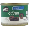 Shurfine Ripe Sliced Olives, 2.25oz