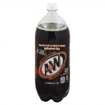 A&W Aged Vanilla Root Beer, 2 Liter