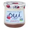 Yoplait French Style Oui Strawberry Yogurt, 5 oz