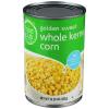 Food Club Whole Kernel Corn Golden Sweet, 15.25 oz