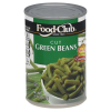 Food Club Green Beans, 14.5 oz