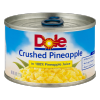 Dole Crushed Pineapple In 100% Pineapple Juice, 8 oz
