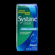 Systane Long Lasting Lubricant Eye Drops, 0.5 fl oz
