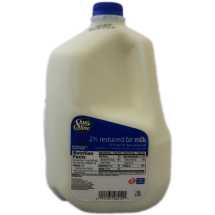 Shur Fine 2% Reduced Fat Milk, 1 gal