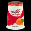 Yoplait Original 99% Fat Free Yogurt Harvest Peach, 6 oz