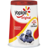 Yoplait Original 99% Fat Free Yogurt Mountain Blueberry, 6 oz