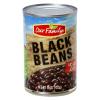 Our Family No Salt Added Black Beans, 15 oz