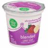 Food Club Strawberry Banana Yogurt, 6 oz
