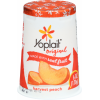 Yoplait Original 99% Fat Free Yogurt Harvest Peach, 6 oz
