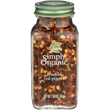 Simply Organic Crushed Red Pepper, 1.59 oz
