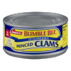 Snow's by Bumble Bee Minced Clams