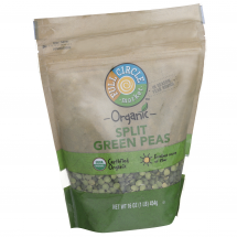 Full Circle Organic Green peas, 16 oz