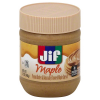 Jif Maple Peanut Butter & Naturally Flavored Maple Spread, 12 oz