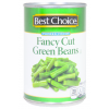 Best Choice Fancy Cut Green Beans, 15 oz