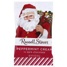Russell Stover Peppermint Cream In Dark Chocolate, 1 ct