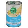 Food Club pear Halves, 14.75 oz