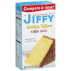 Jiffy Golden Yellow Cake Mix, 9 oz