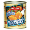 Our Family Mandarin Oranges in Light Syrup, 11 oz