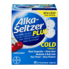Bayer Alka-seltzer Plus Cold Cherry Burst, 20 ct