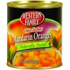 Western Family Naturally Sweet Mandarin Oranges, 10.5 oz