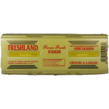 Freshland Dozen Farm Fresh Large Grade A Eggs, 12 ct