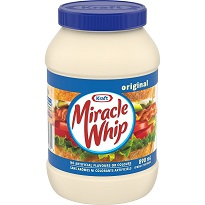 Kraft Miracle Whip, 890 mL