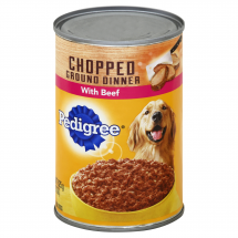 Pedigree W/ Chopped Beef Meaty Ground Dinner, 22 Oz
