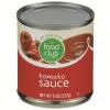 Food Club Tomato Sauce, 8 oz