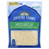 Crystal Farms All Natural Shredded Mozzarella Cheese, 8 oz