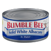 Bumble Bee Solid White Albacore in Water, 1 ct