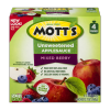 Mott's Applesauce Mixed Berry Snack and Go Portable Pouches, 12.7 oz