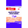 Krasdale Mexican Blend Four Cheese, 8 oz
