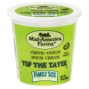 Mid America Farms Top The Tater Chive & Onion Sour Cream, 24 oz