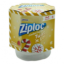 ZIPLOC TWIST LOC HOLIDAY 3 CNT