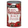 Food Club 100 % Tomato Juice, 46 fl oz