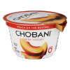 Chobani Non-fat Greek Yogurt Peach, 5.3 oz