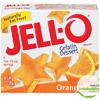 JELL-O Orange Gelatin Dessert, 3 oz