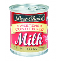 Best Choice Sweetened Condensed Milk, 14 oz